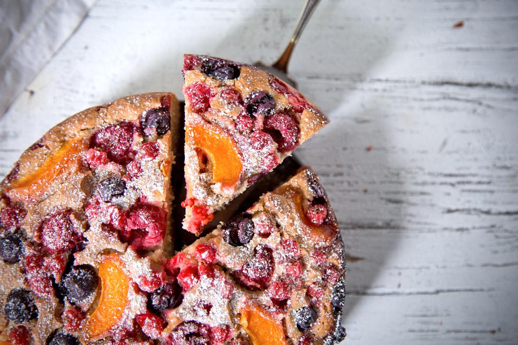 Einfaches Rezept für Obstkuchen