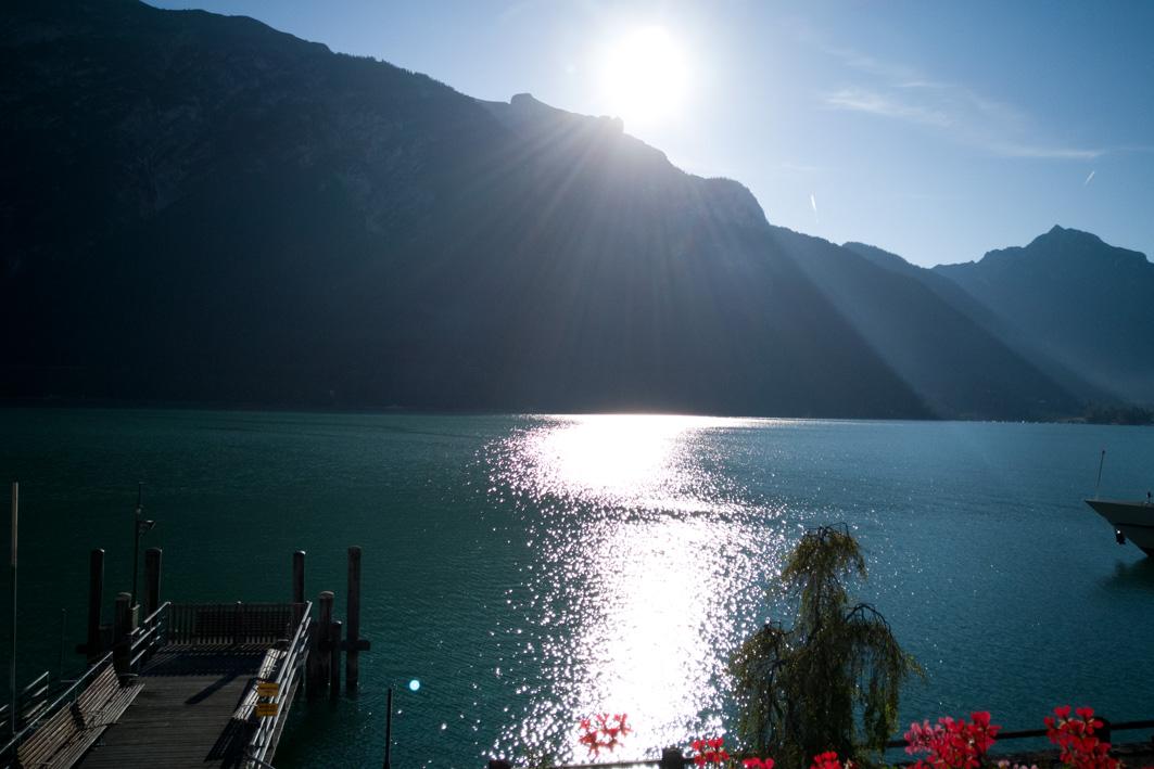 Sonnenaufgang am Achensee