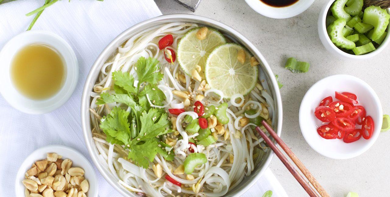 Rezept für Thai Nudelsuppe