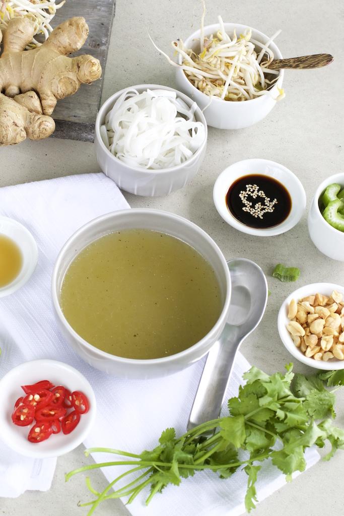 Brühe für Thai Nudelsuppe