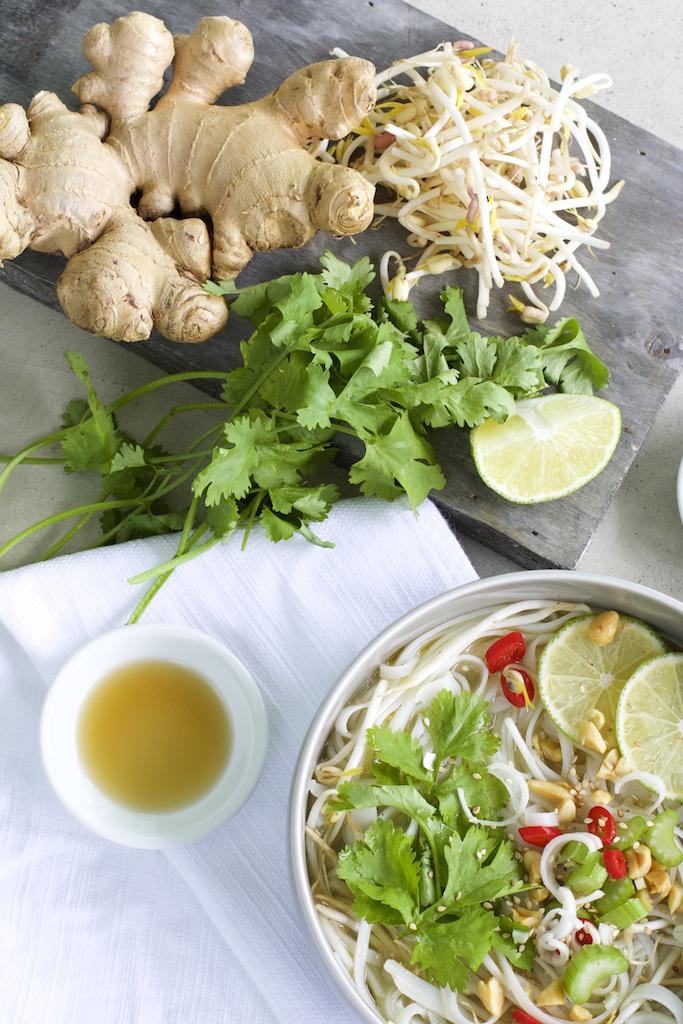 Einfaches Rezept für Thai Nudelsuppe