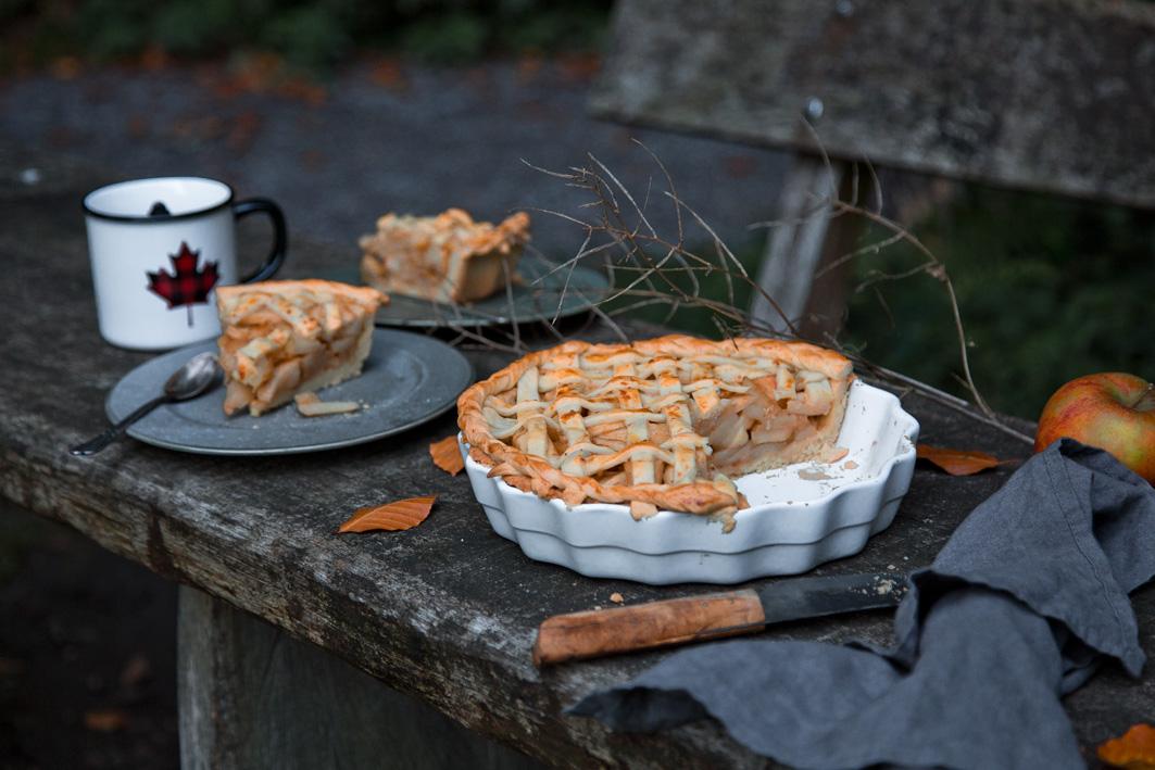 Rezept für gedeckten Apple Pie