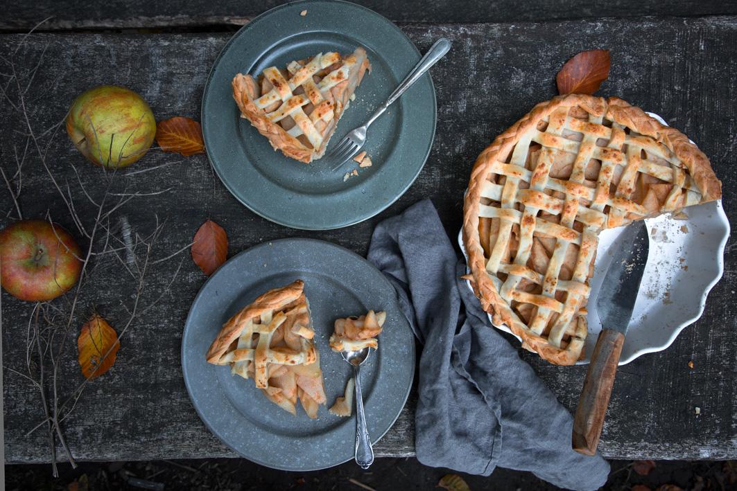 Zwei Stücke Apple Pie