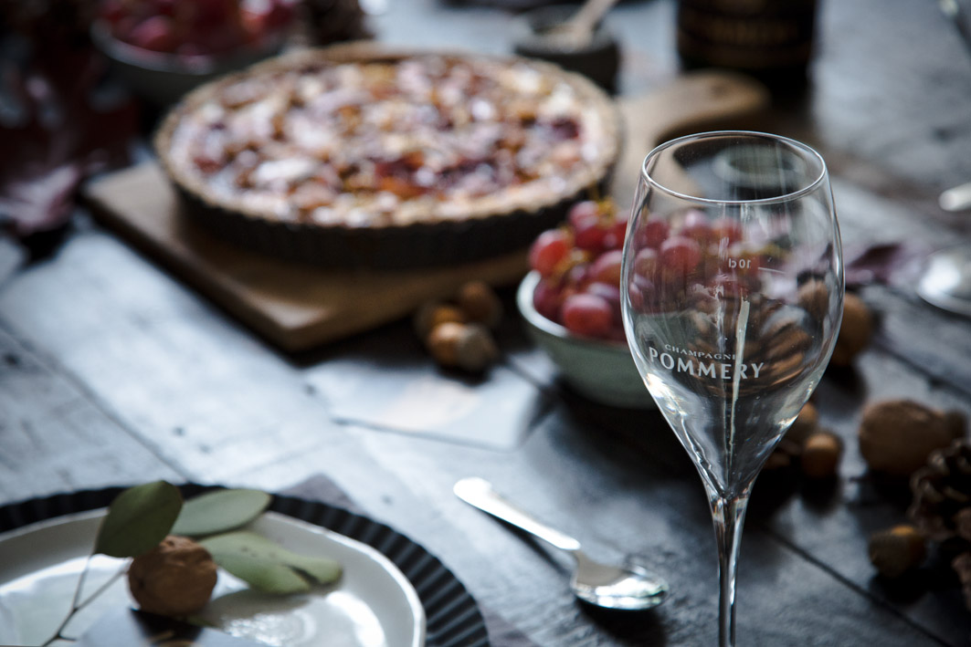 Pommery Champagner Glas