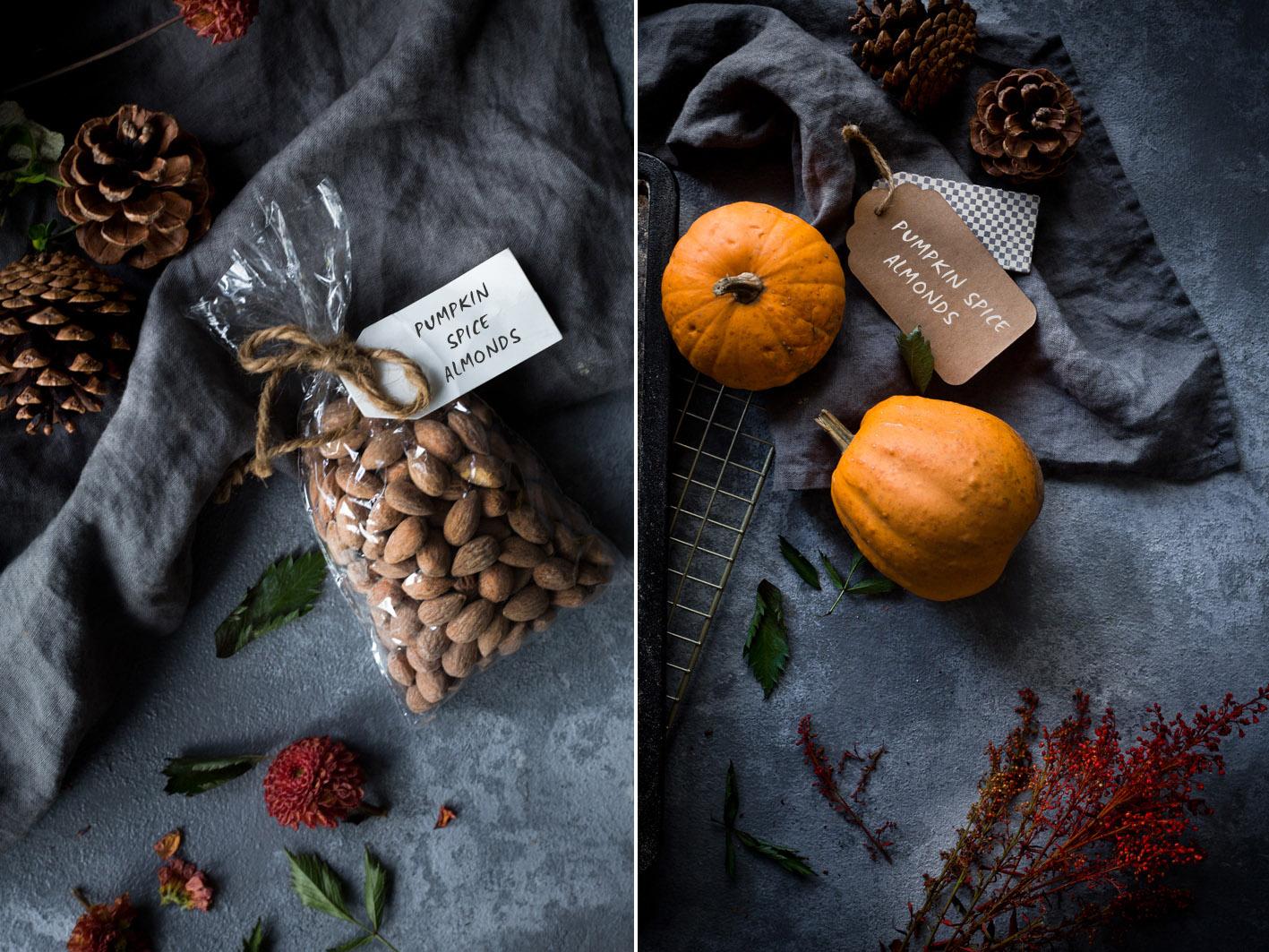 Herbstsnack: Pumpkin Spice Almonds