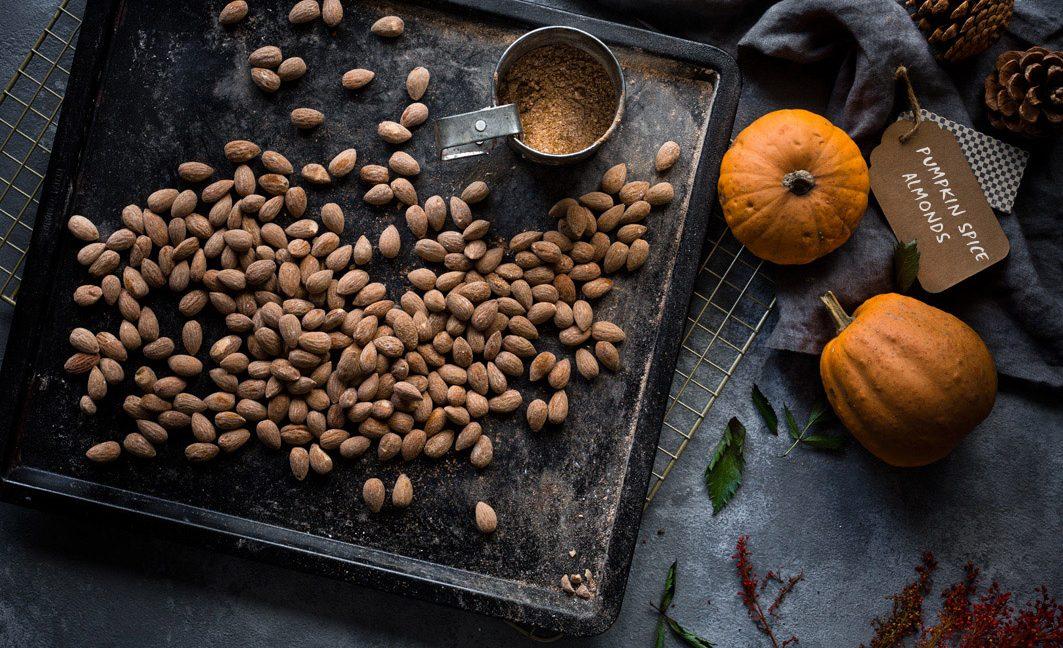 Basisrezept für Pumpkin Spice und Pumpkin Spice Almonds.