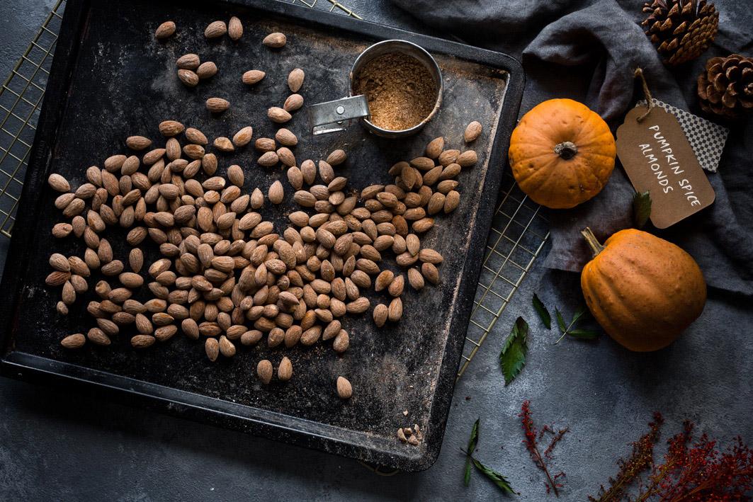 Pumpkin Spice Mandeln