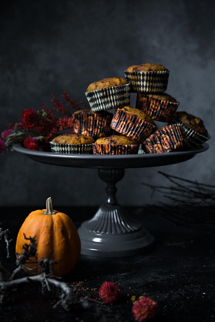 Rezept für Kürbis Muffins