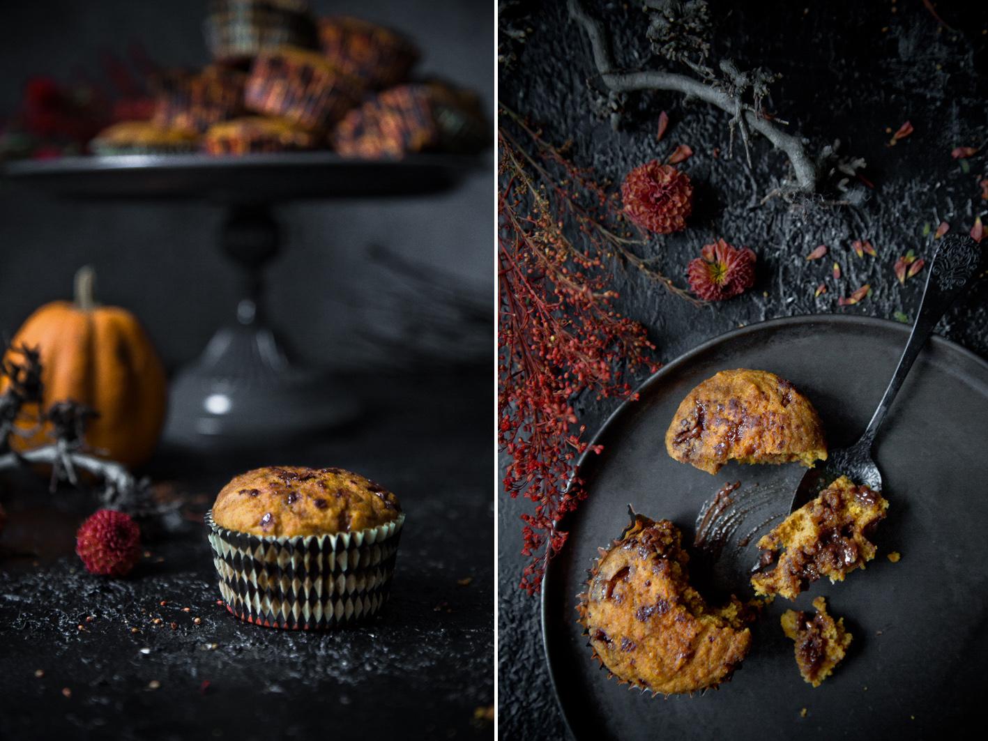 Schoko Kürbis Muffins