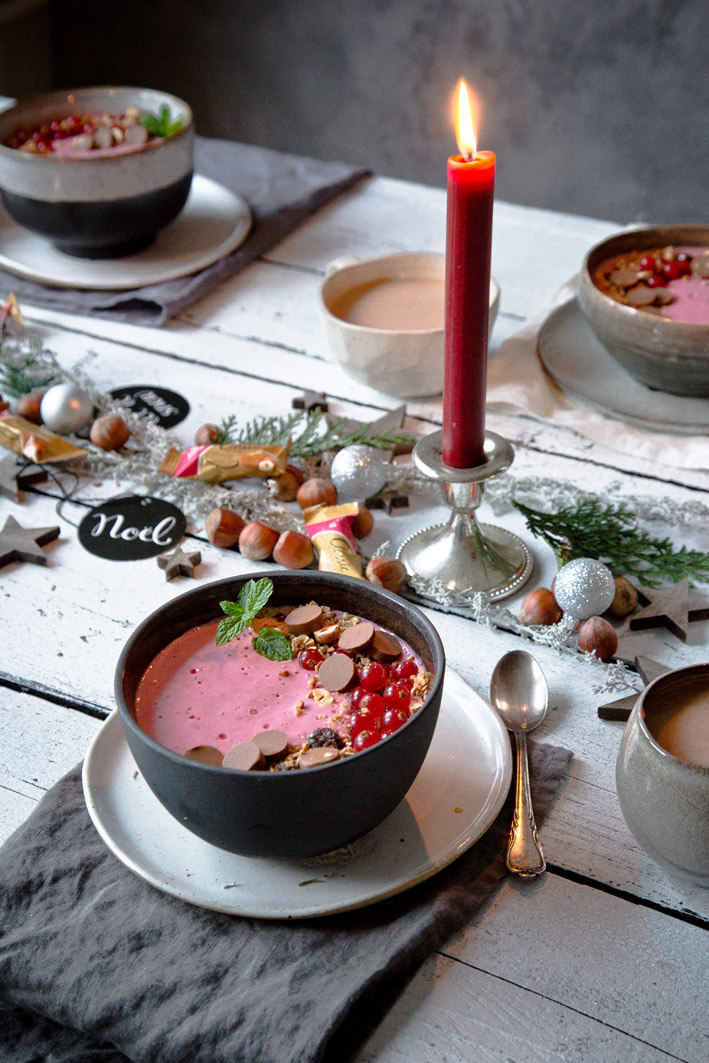 Adventsbrunch mit Nougatmüsli