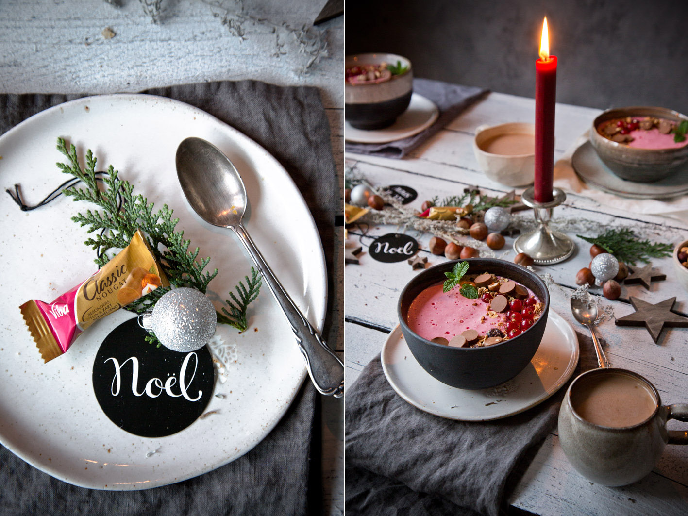 Adventsbrunch mit Nougat Müsli