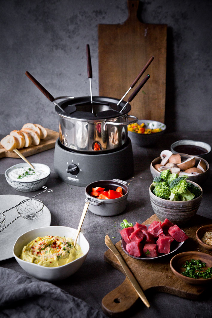rezepte f r 39 s fondue mit br he foodlovin 39. Black Bedroom Furniture Sets. Home Design Ideas