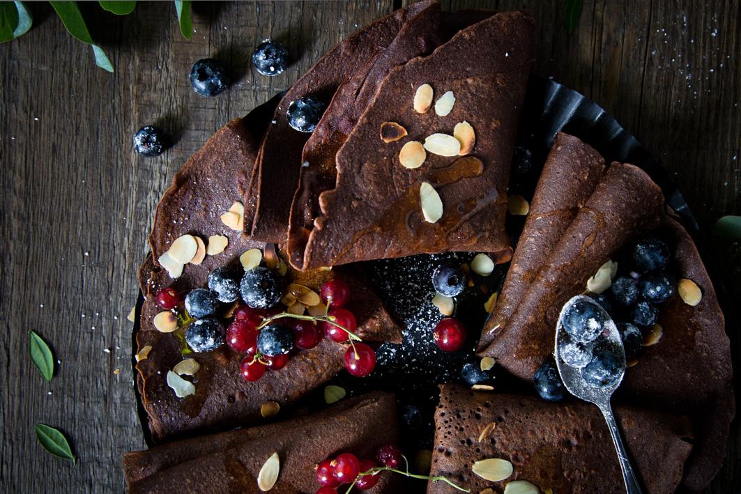Rezept für Schokoladencremes mit Buchweizenmehl