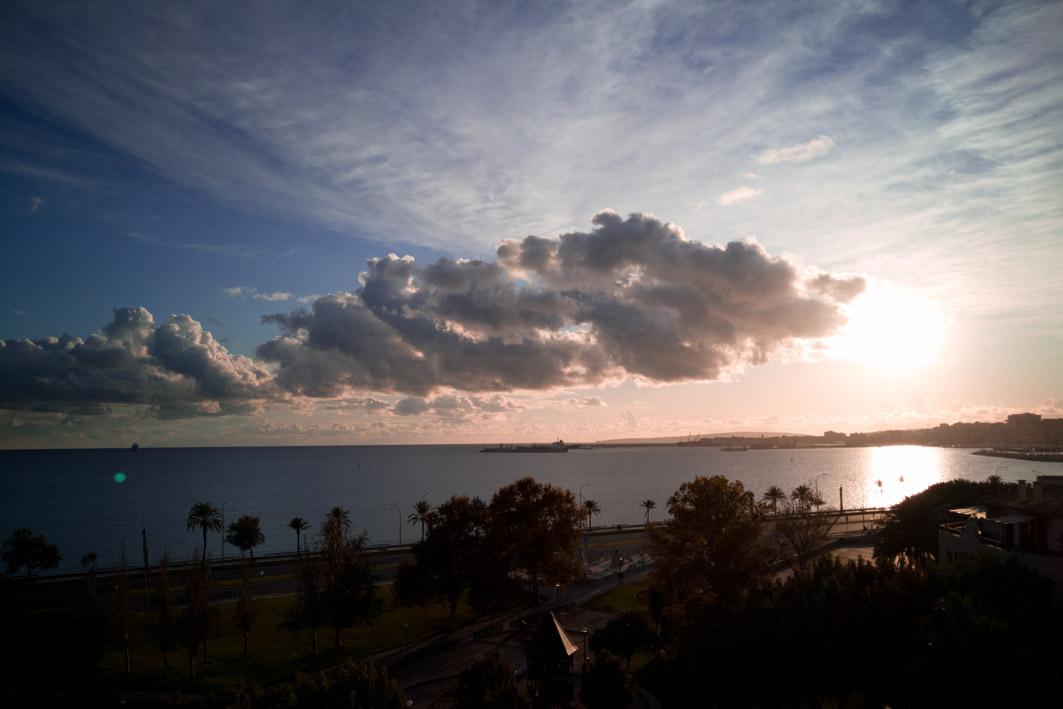 Sonnenuntergang Palma