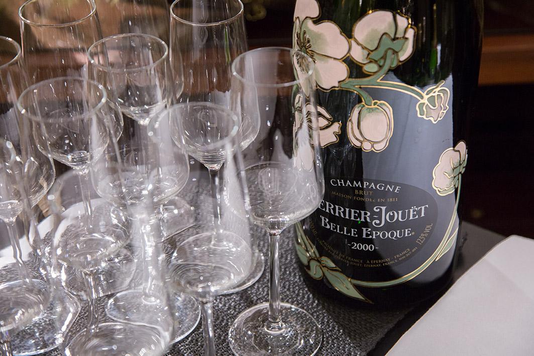 Champagner im Breidenbacher Hof