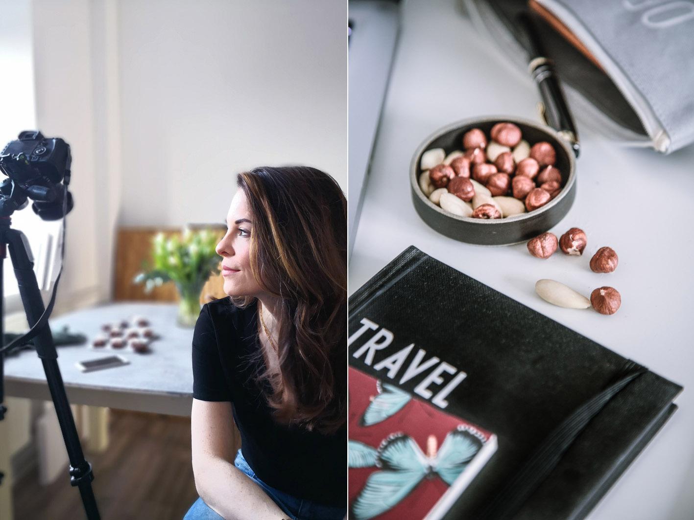Denise von Foodlovin in ihrem Büro