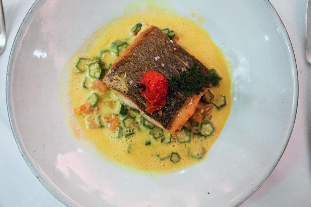 Fisch in Currysauce