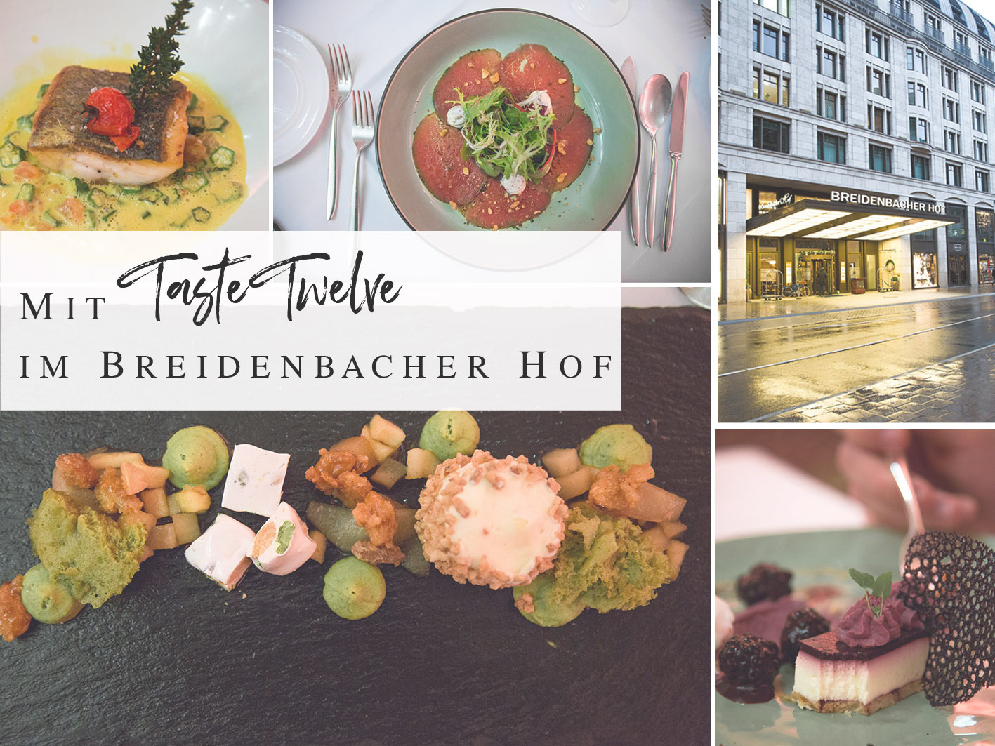 Taste Twelve Breidenbacher Hof