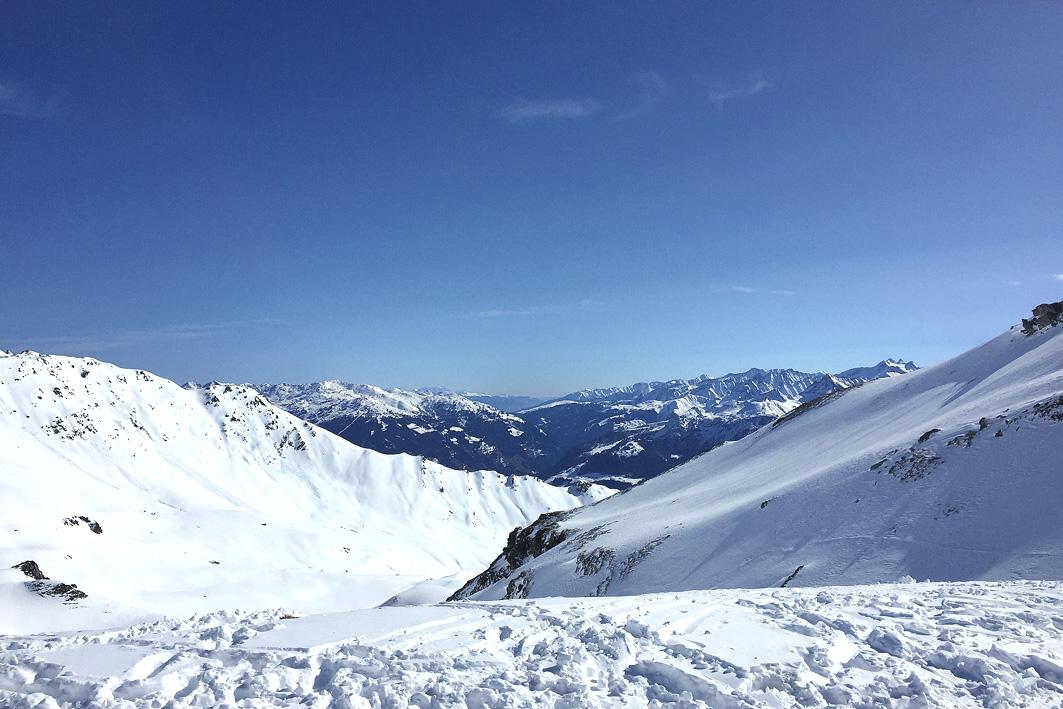 Berge im Zillertal