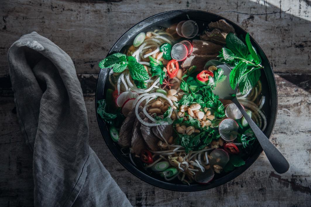 Gesunde vietnamesische Pho