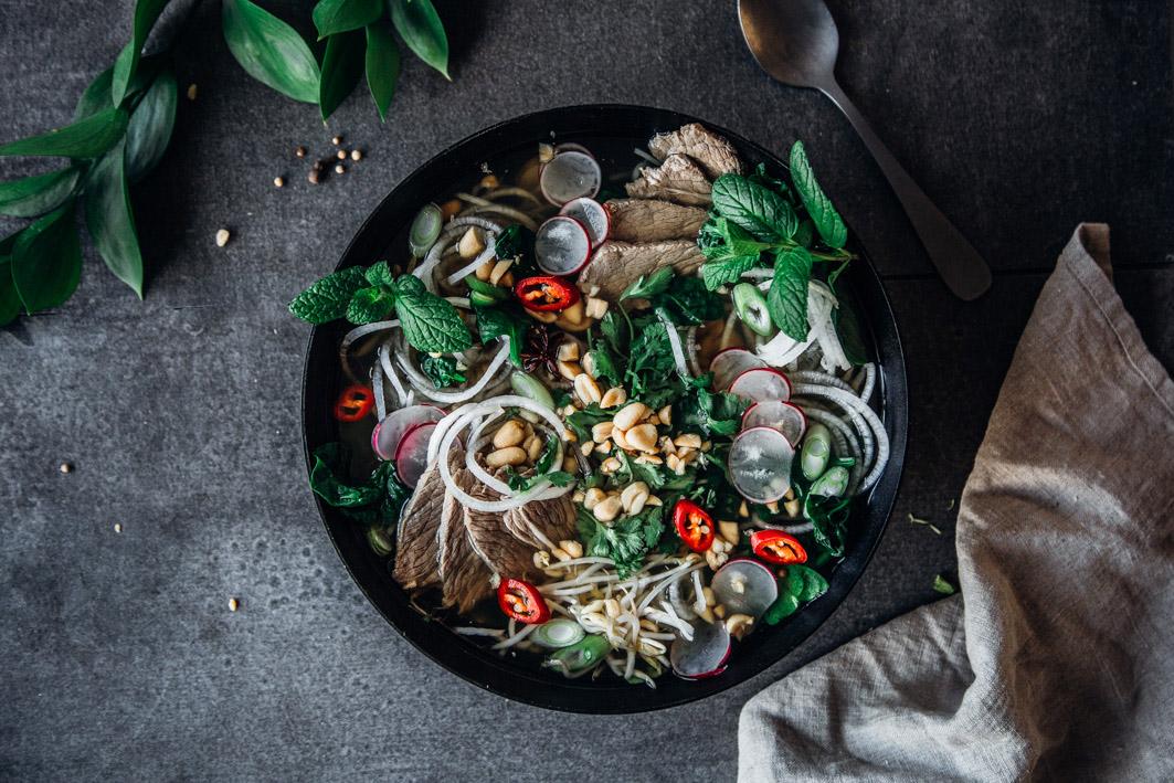 Vietnamische Pho ganz schnell selbst machen