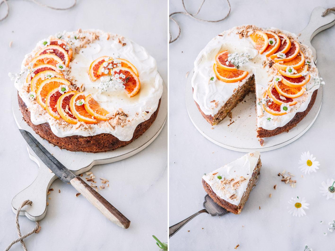 Orangen-Möhrenkuchen