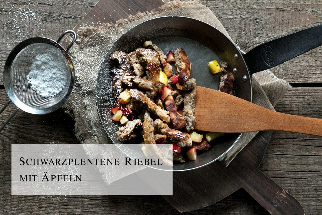 Schwarzplentene Riebl aus Südtirol