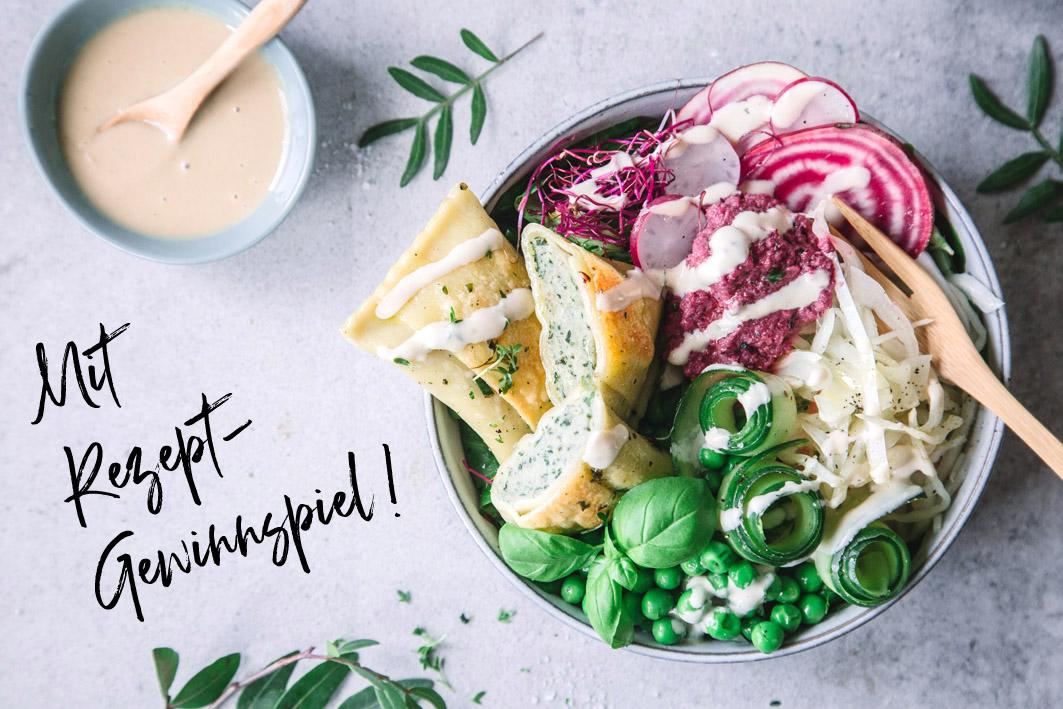 Maultaschen Salatbowl