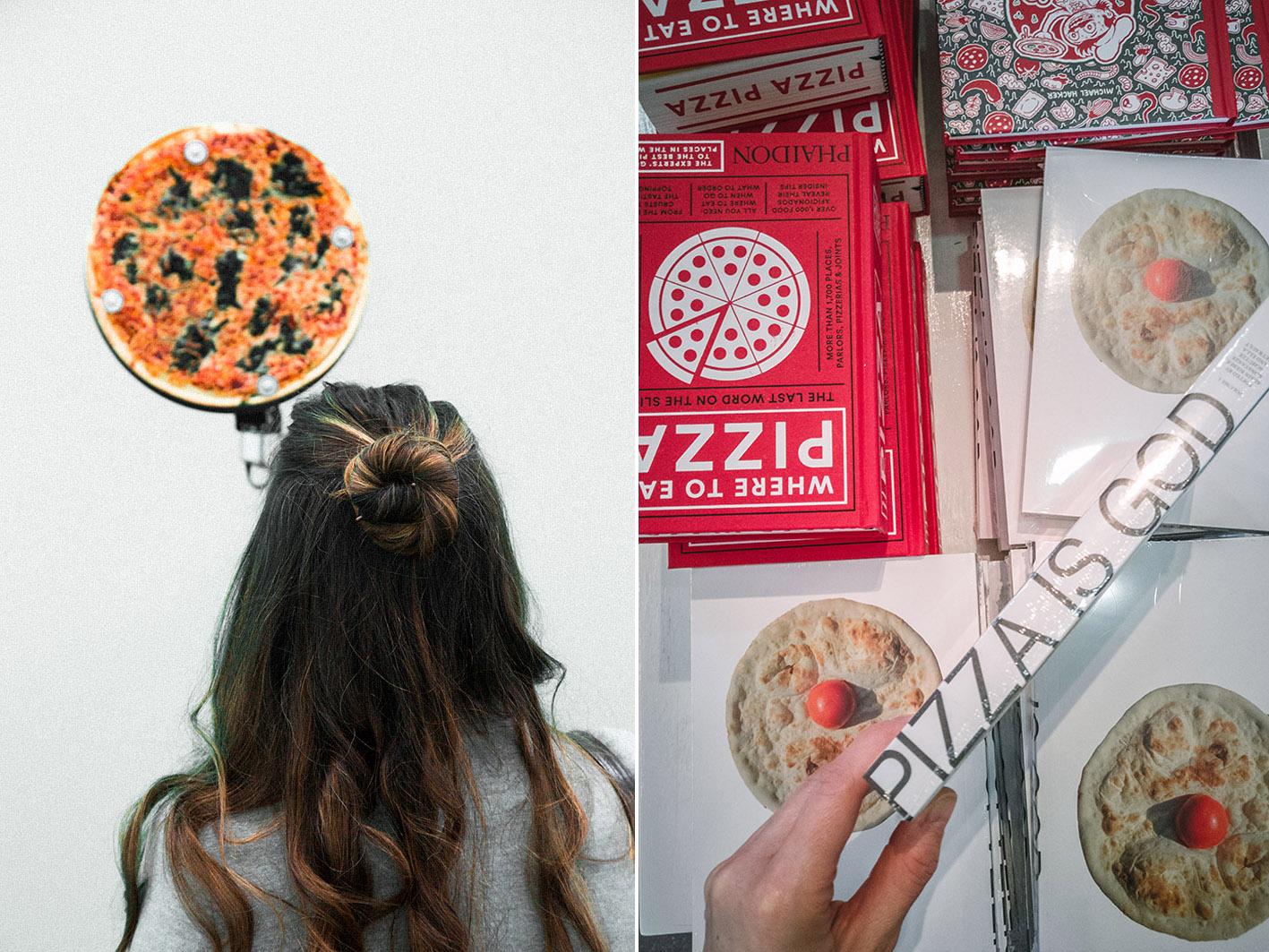 Pizza Ausstellung im NRW Forum