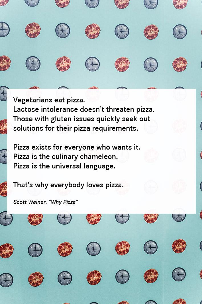 Pizza Zitat