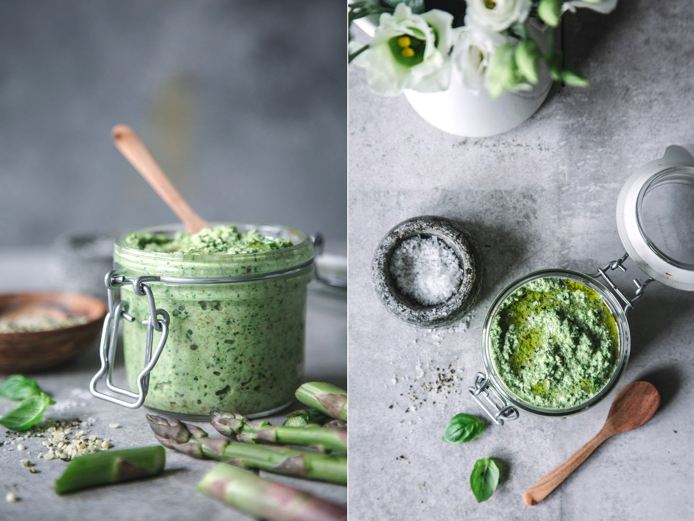 Superfood Spargelpesto