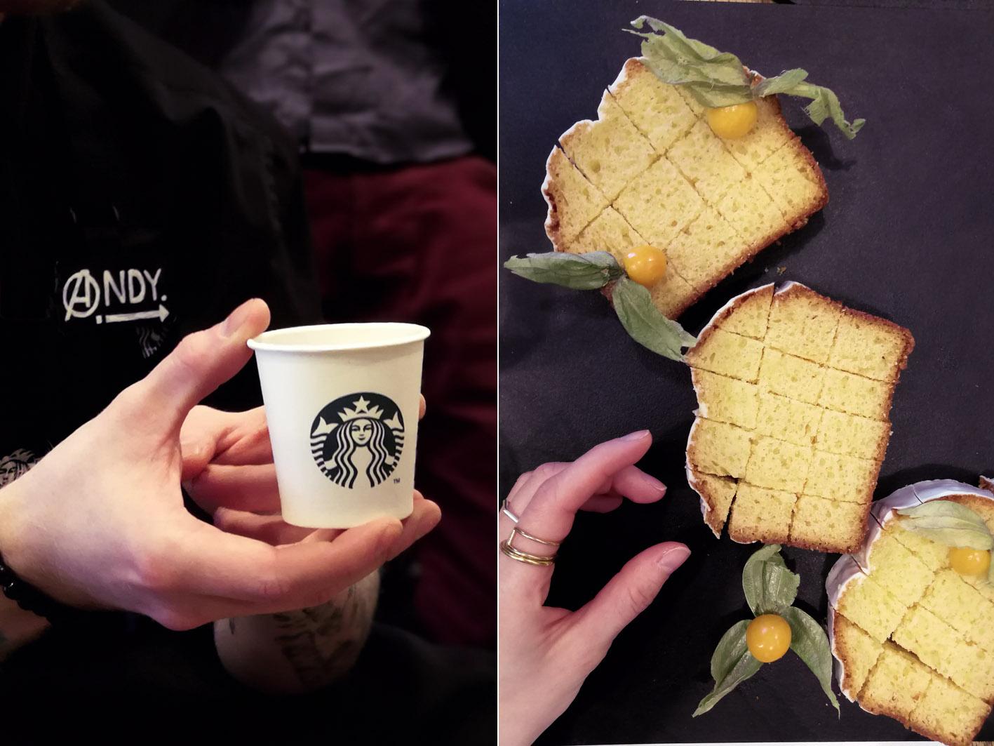 Starbucks Tasting