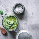 Veganes Spargel Pesto