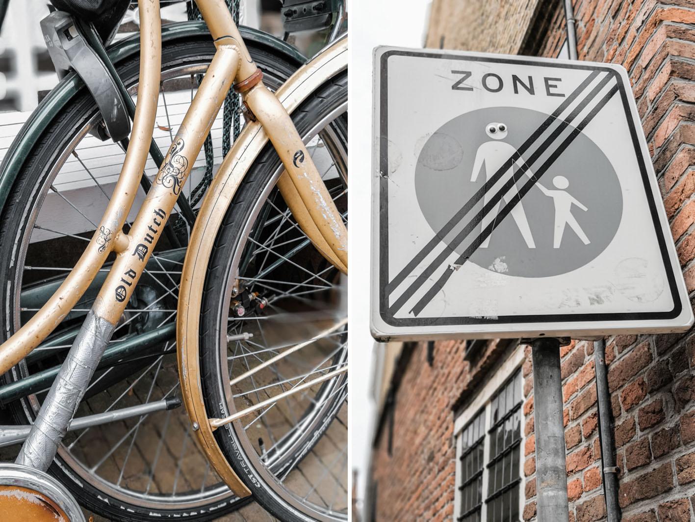 Fahrräder in Haarlem