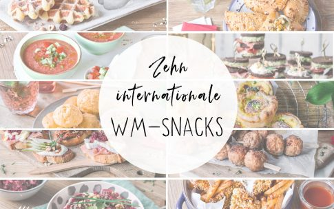 10 internationale WM-Snacks