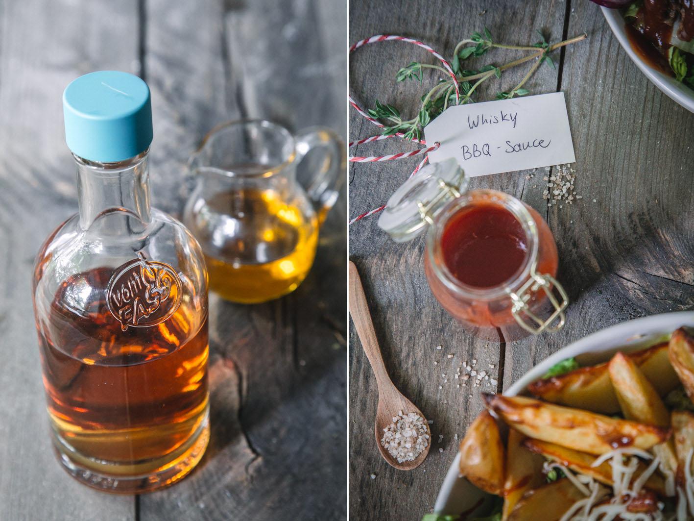 BBQ Sauce mit Whiskey