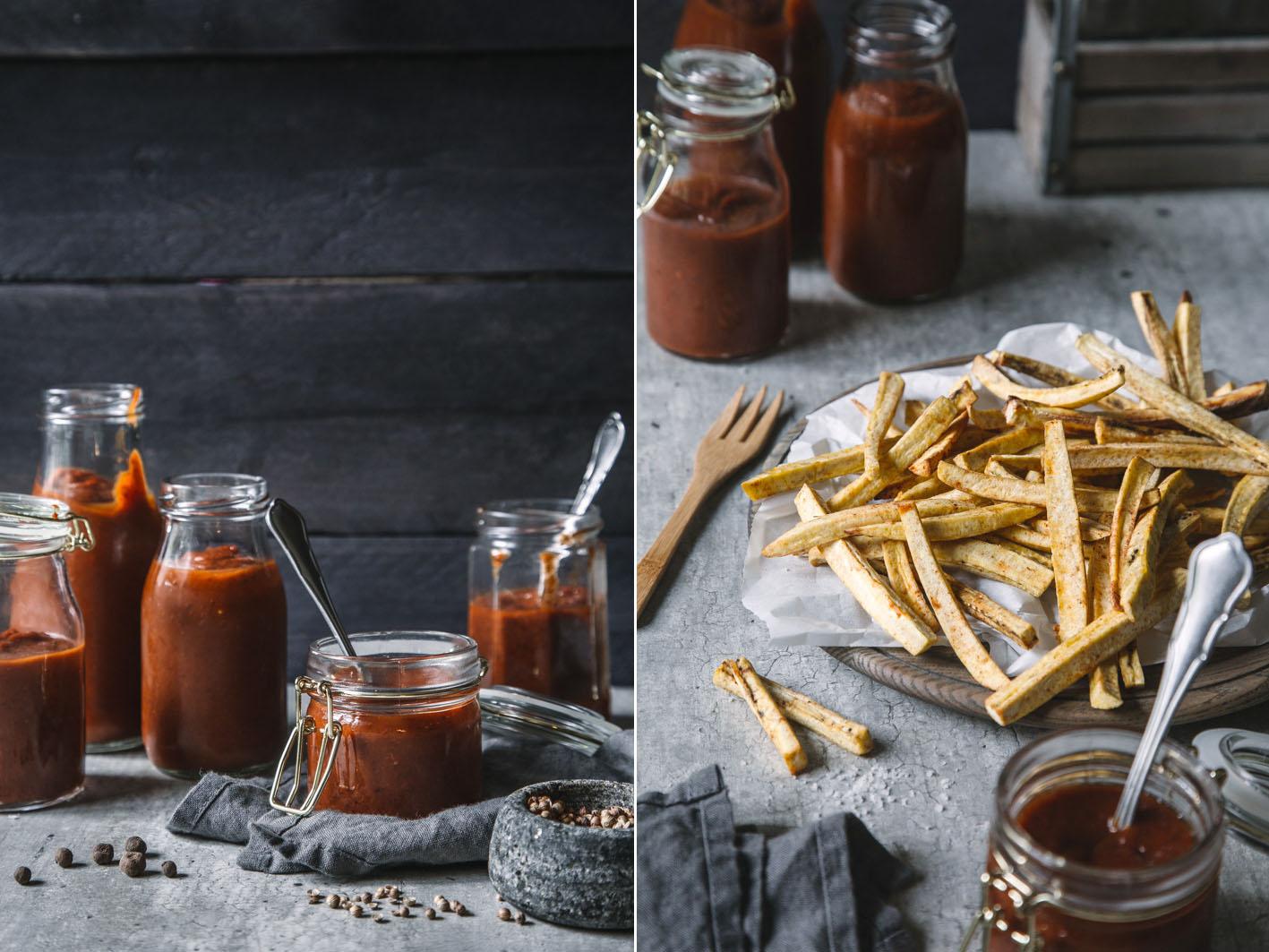 Gesunder Ketchup aus Trockenpflaumen