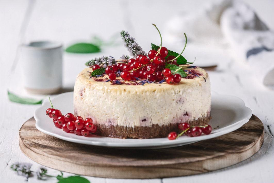 Johannisbeer Cheesecake