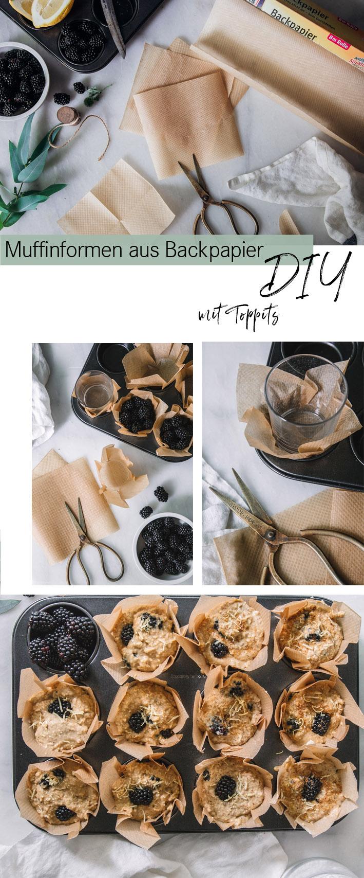 DIY-Anleitung für selbst gebastelte Muffinförmchen
