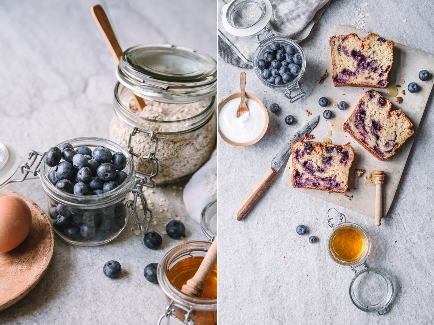 Saftiges Blueberry Bread mit Joghurt