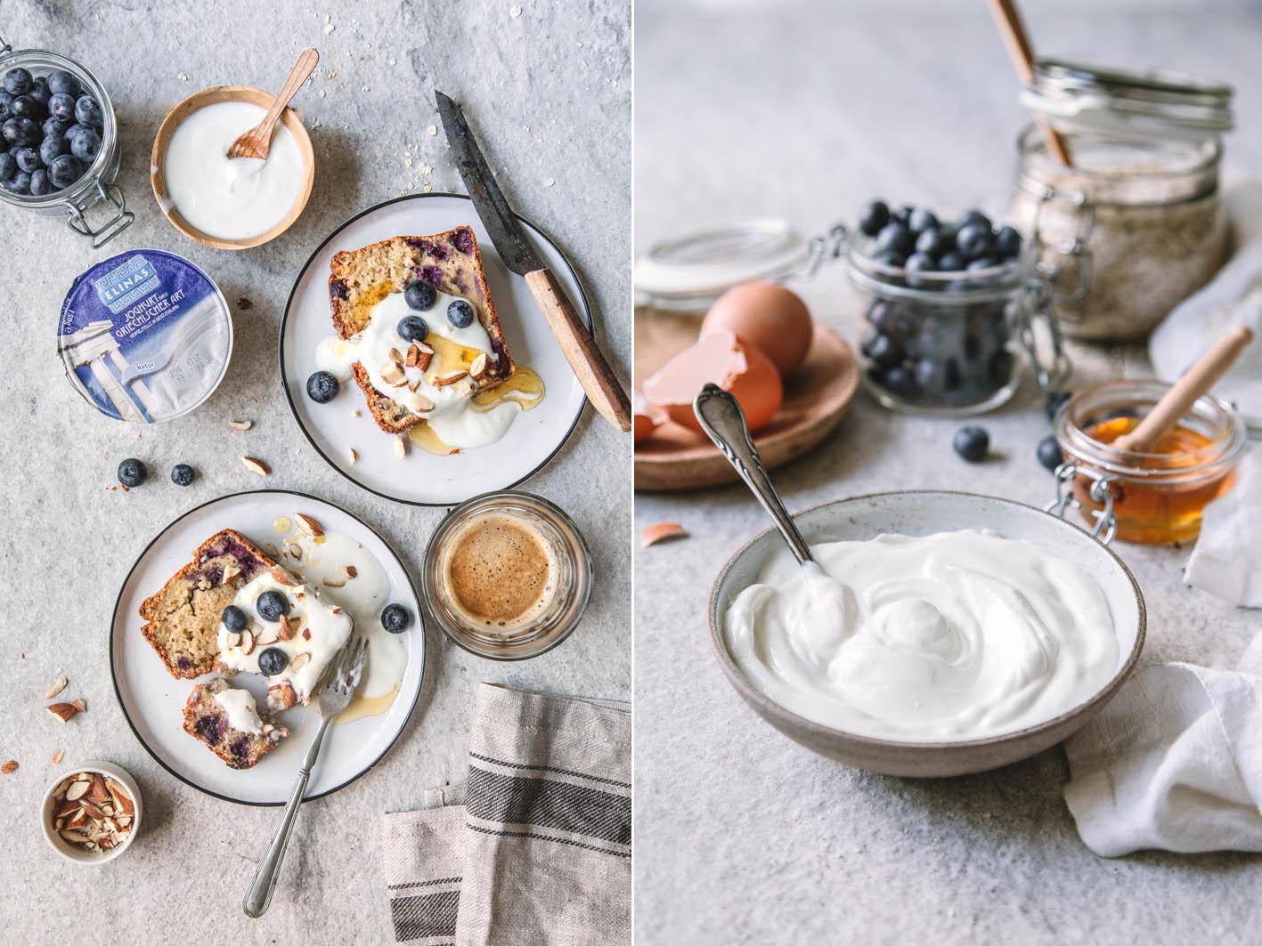 Blueberry Joghurt Bread