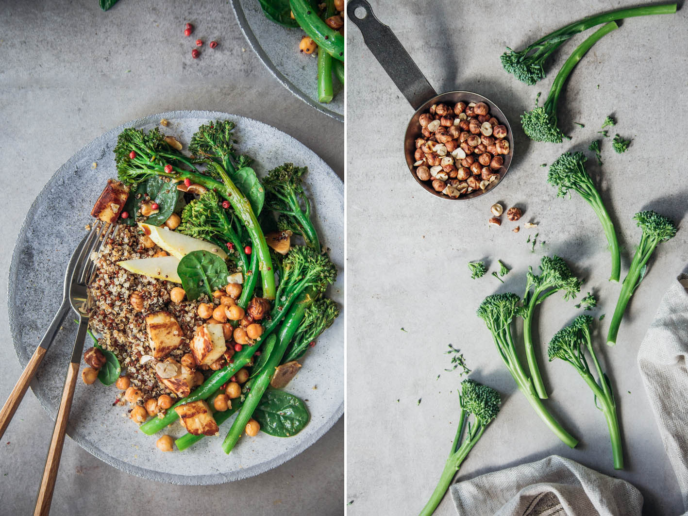 Rezept mit Bimi Broccolini
