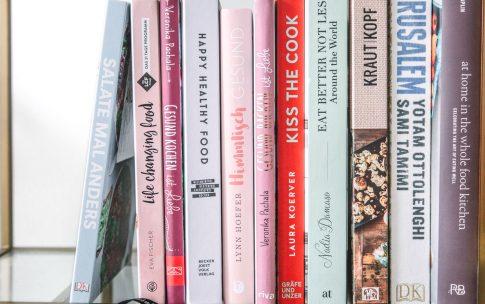 Mein Kochbuchregal – 10 Lieblingskochbücher.