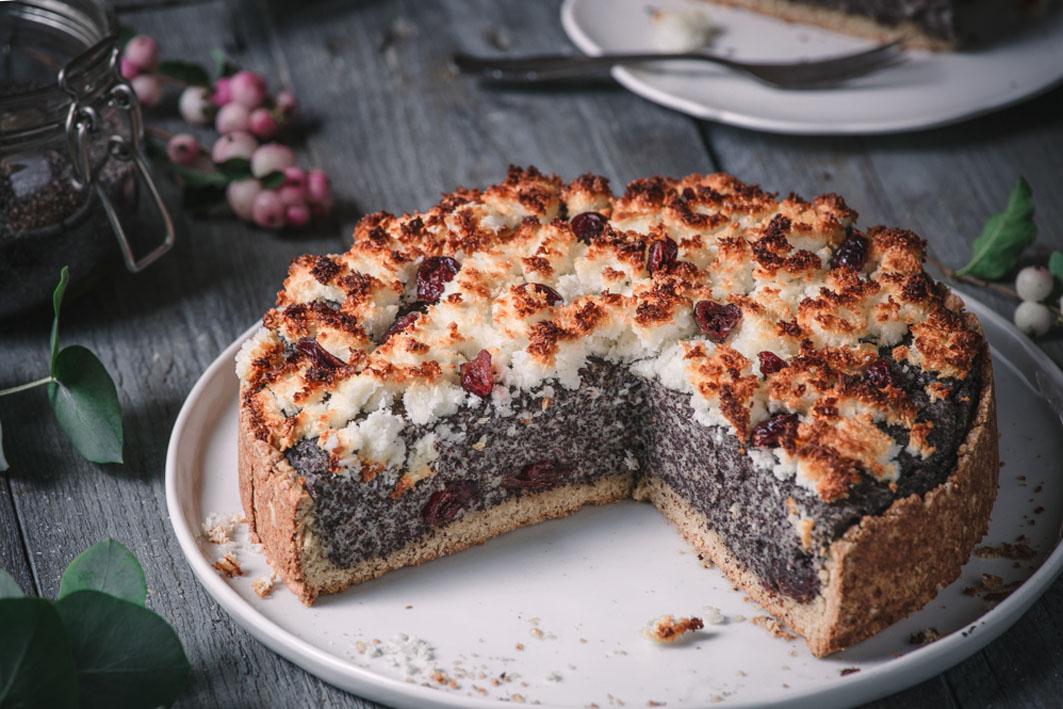 Mohn-Kokos-Kuchen