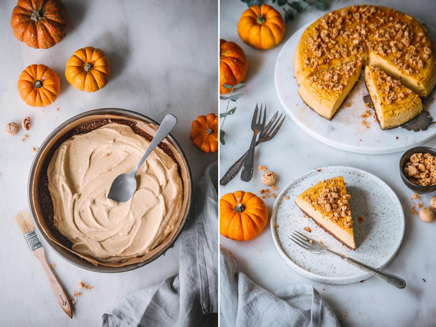 Rezept für Kürbis Cheesecake