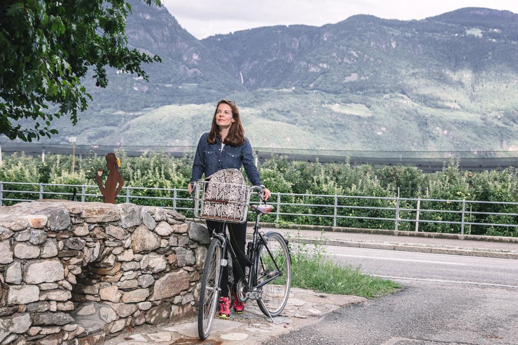 Mit dem Fahrrad durch Südtirol