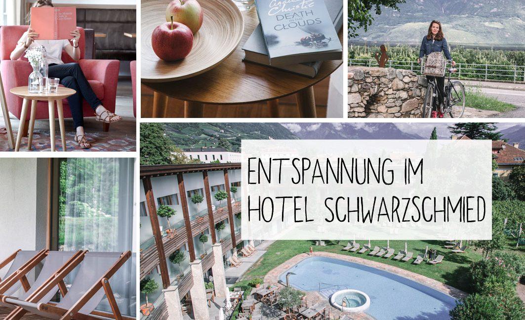 Das Hotel Schwarzschmied in Lana