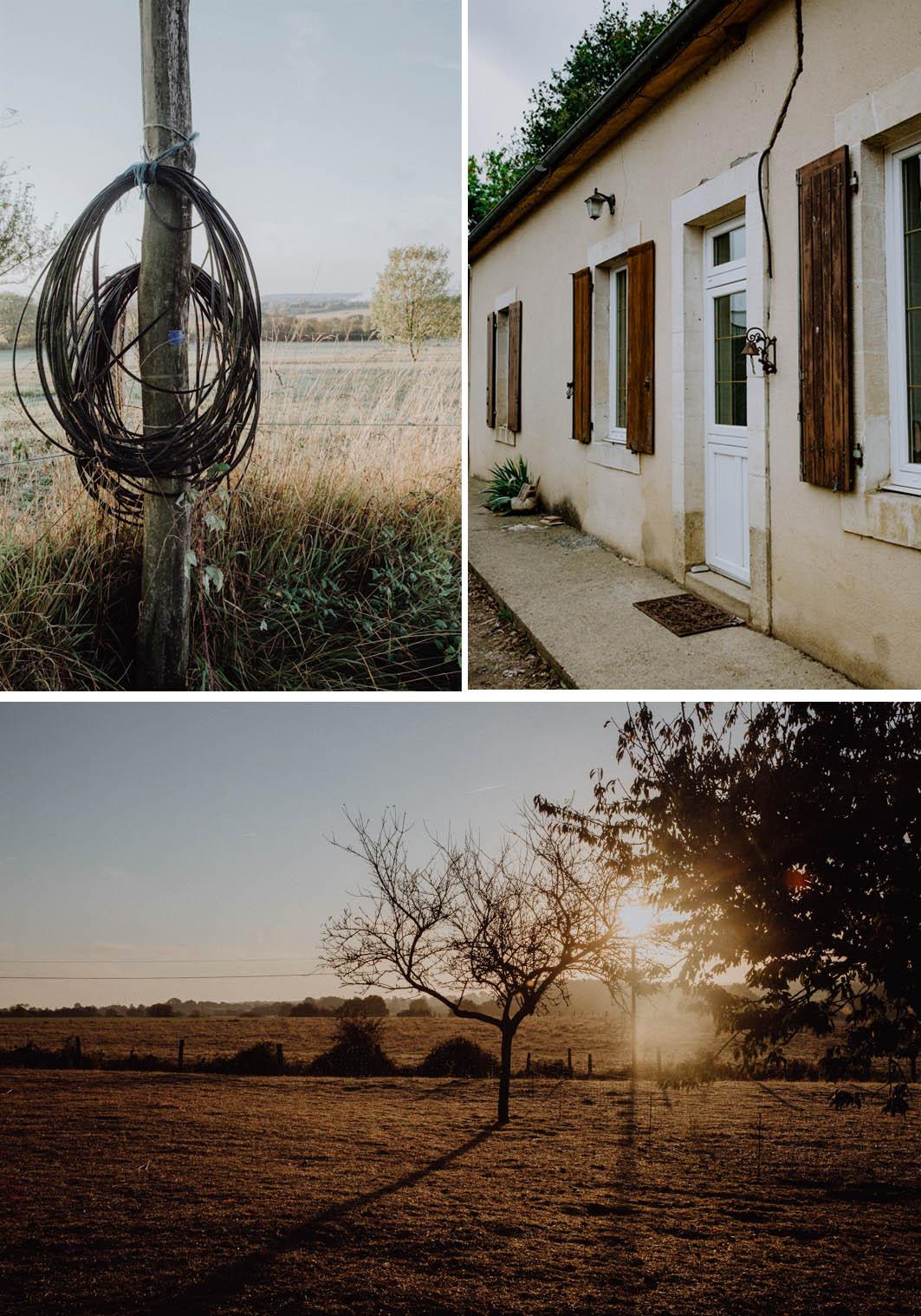 Bauernhof in Frankreich