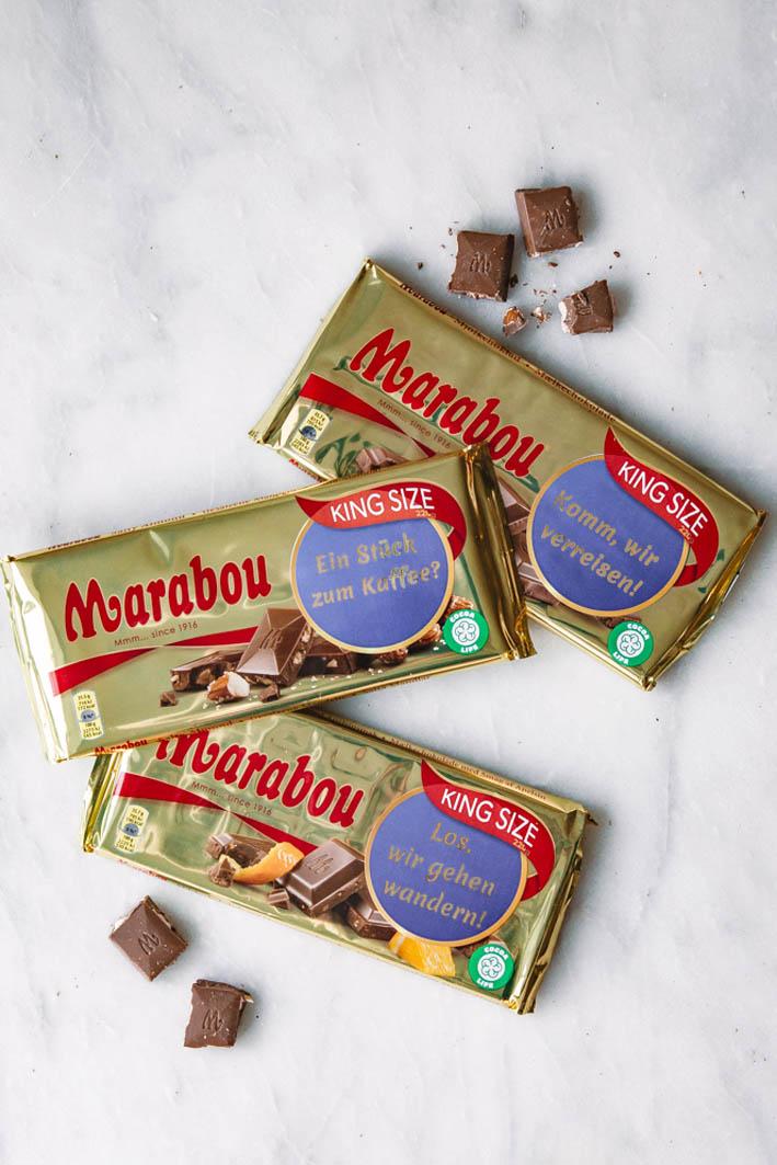 Marabou Glücksbotschaft
