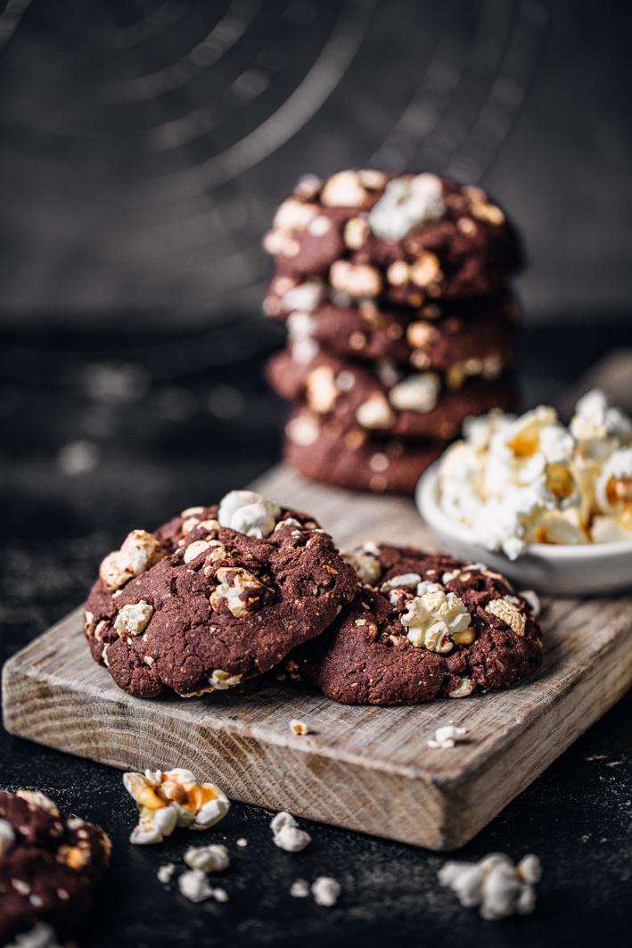 Popcorn-Schoko-Cookies